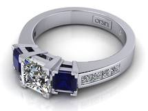 Bespoke engagement diamond ring Auckland